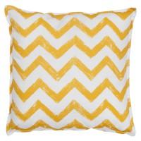 Подушка Yellow Zigzag