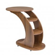 """Подкатной столик на колесиках """"Стелс"""",  Орех"""