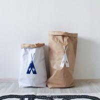 Эко-мешок для игрушек из крафт бумаги Big Vigvam