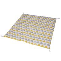 Стеганый игровой коврик Triangles