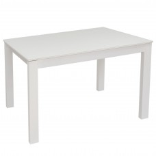 Стол раздвижной Leset Делавэр 2Р МИ, Белый, стекло Белое