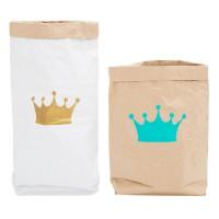 Эко-мешок для игрушек из крафт бумаги Big Crown