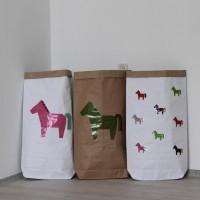 Эко-мешок для игрушек из крафт бумаги Pony