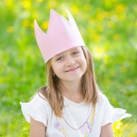 Корона Simple Pink