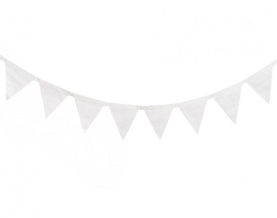 Гирлянда из флажков Simple White