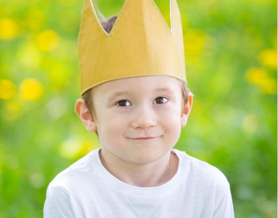 Детская корона Gold