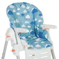 Съемный чехол Clouds для стульчика для кормления