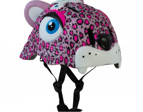 Шлем Pink Leopard 2017 NEW (Розовый Леопард) Crazy Safety