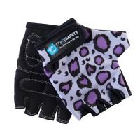 Перчатки Purple Leopard (Фиолетовый Леопард) Crazy Safety