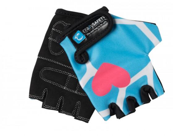 Перчатки Blue Giraffe (Синий Жираф) Crazy Safety