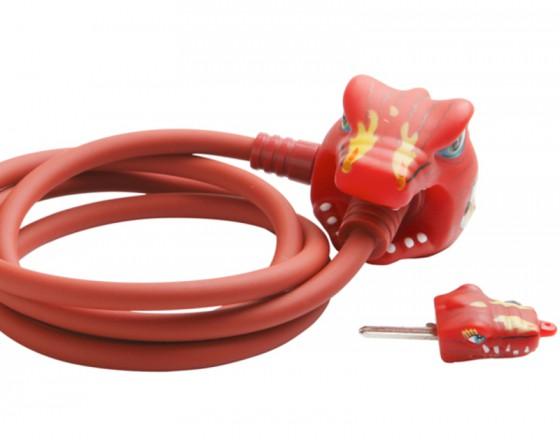 Замок велосипедный Chinese Dragon (Китайский Красный Дракон) Crazy Safety