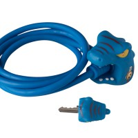 Замок велосипедный Blue Dragon (Синий Дракон) Crazy Safety