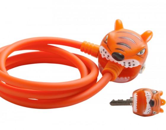 Замок велосипедный Orange Tiger (Зеленый Тигр) Crazy Safety