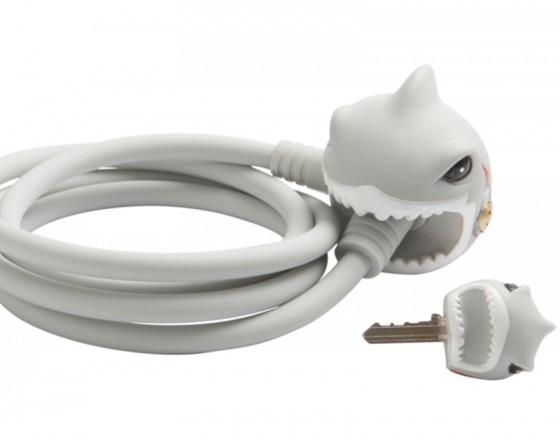 Замок велосипедный White Shark (Белая Акула) Crazy Safety