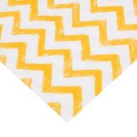 Ткань Yellow Zigzag 2016, 100% хлопок
