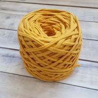 Трикотажная пряжа, цвет горчица
