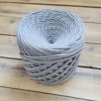 Трикотажная пряжа, цвет серый меланж