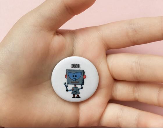 Значок Robot Teodor