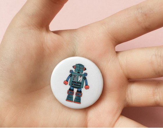 Значок Robot Martin