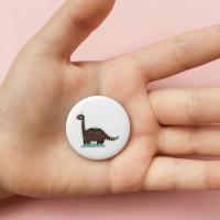 Значок Бронтозавр Андрей