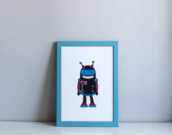 Постер Robot Harry