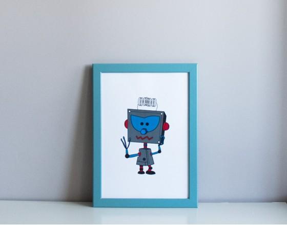 Постер Robot Teodor