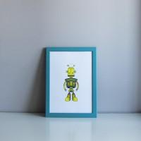 Постер Robot Vincent