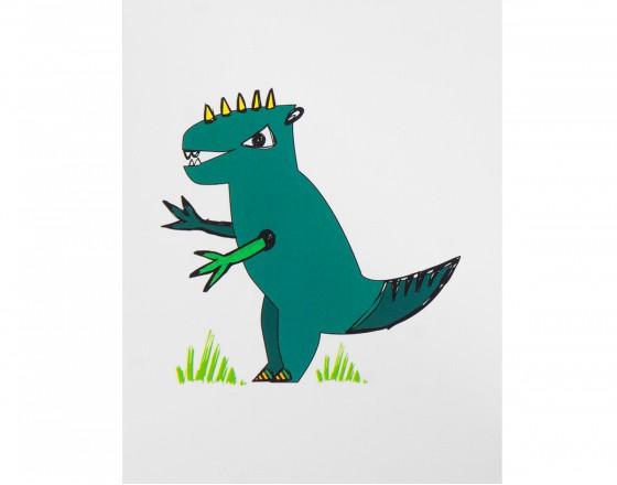 Открытка T-Rex
