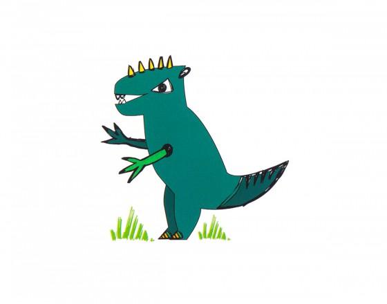 Декоративная наклейка T-Rex
