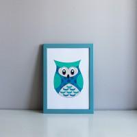 Постер Blue Owl