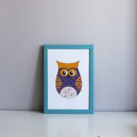 Постер Violet Owl