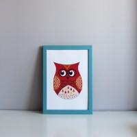 Постер Red Owl