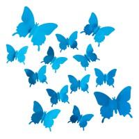 Комплект 3D наклеек Butterflies перфoрированные
