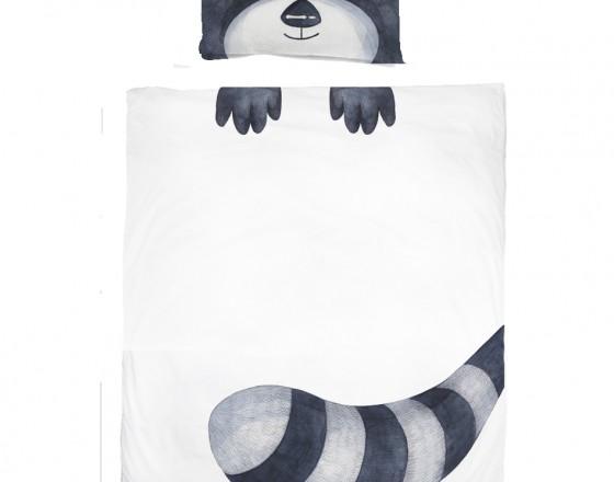 Комплект детского постельного белья Енот
