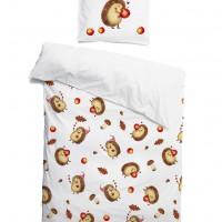 Комплект детского постельного белья Ежики
