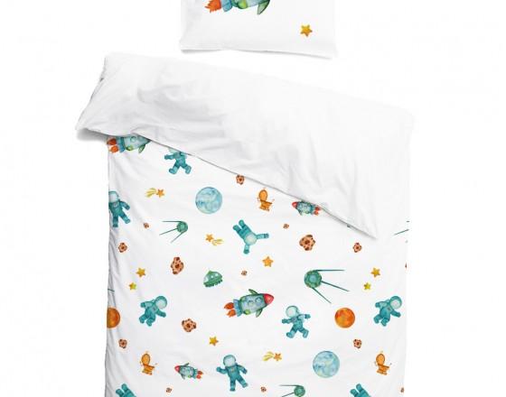 Комплект детского постельного белья Космос