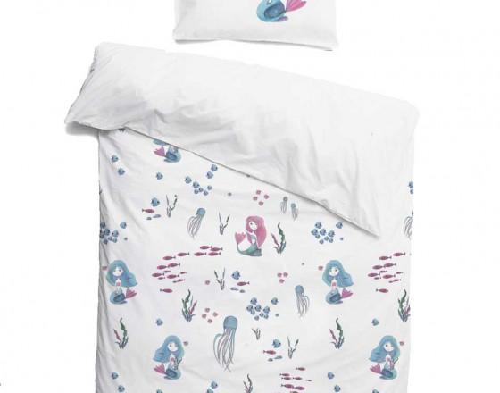 Комплект детского постельного белья Русалочки