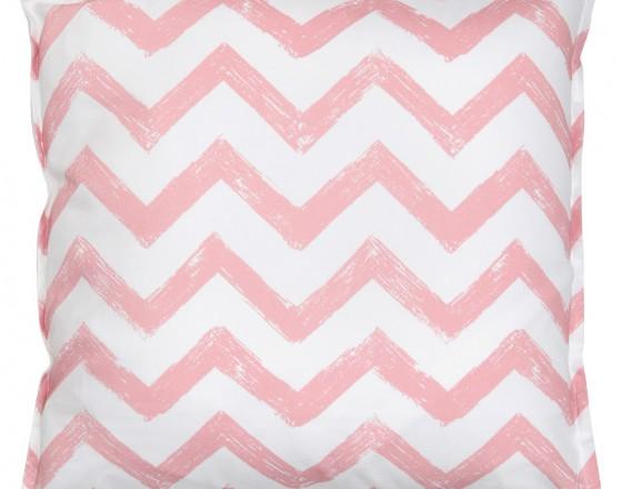 Подушка Pink Zigzag