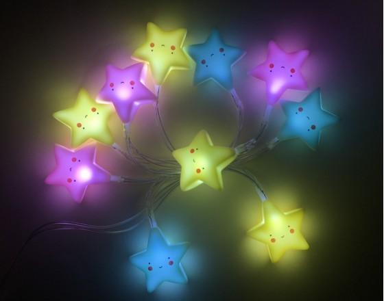 Детская гирлянда Stars
