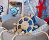 Детский сухой бассейн бежевого цвета