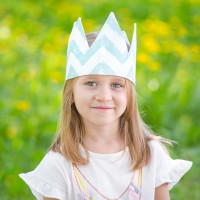 Детская корона Mint Zigzag