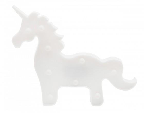 Детский ночник Белый Единорог (целиком)