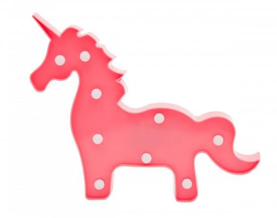 Детский ночник Розовый Единорог (целиком)