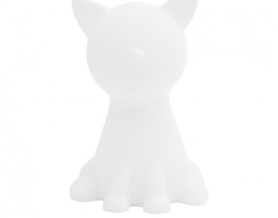 Детский ночник Большой Белый Кот