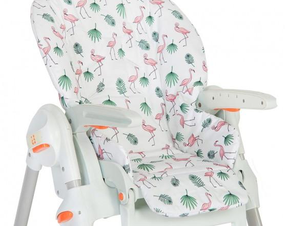 Съемный чехол Flamingo для стульчика для кормления