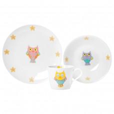 Комплект посуды Cute Owl