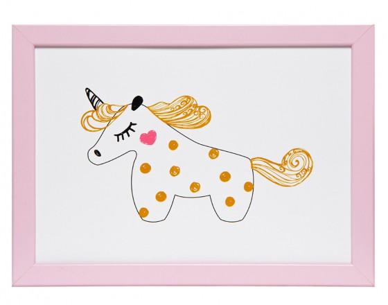 Постер Gold Unicorn