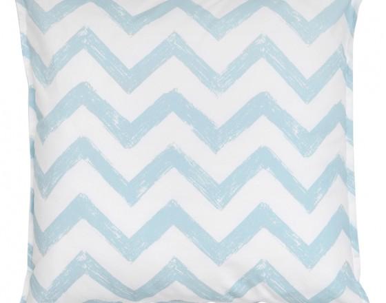 Подушка Blue Zigzag