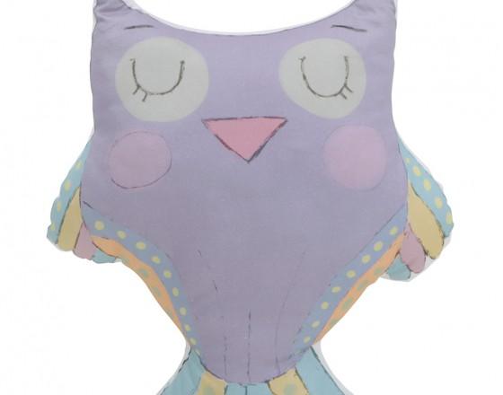 Мягкая игрушка Фиолетовая Сова