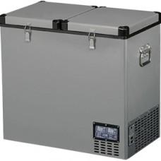Компрессорный автохолодильник Indel B TB 118DD Steel (118л)